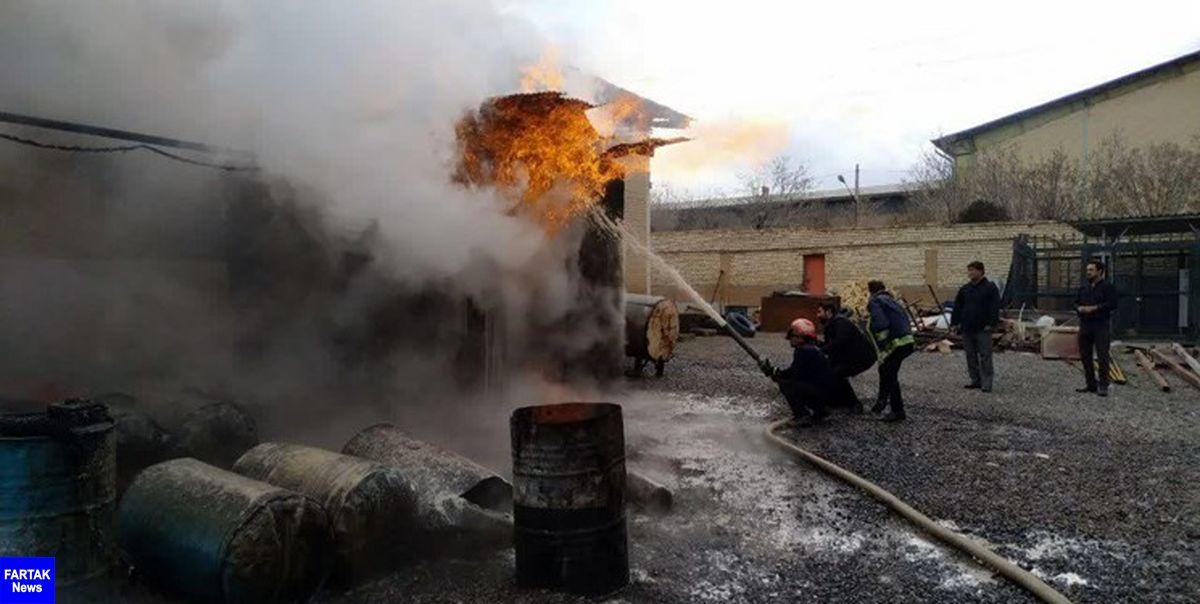 ۳ کشته در اثر حریق یک کارگاه غیر مجاز در ملارد