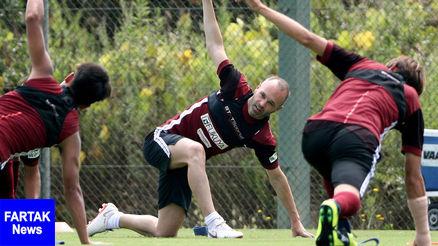 محرومیت یک ماهه بازیکن ژاپنی به خاطر اینیستا