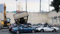 نابودی خودروهای لوکس به دستور رئیس جمهور جنجالی+فیلم
