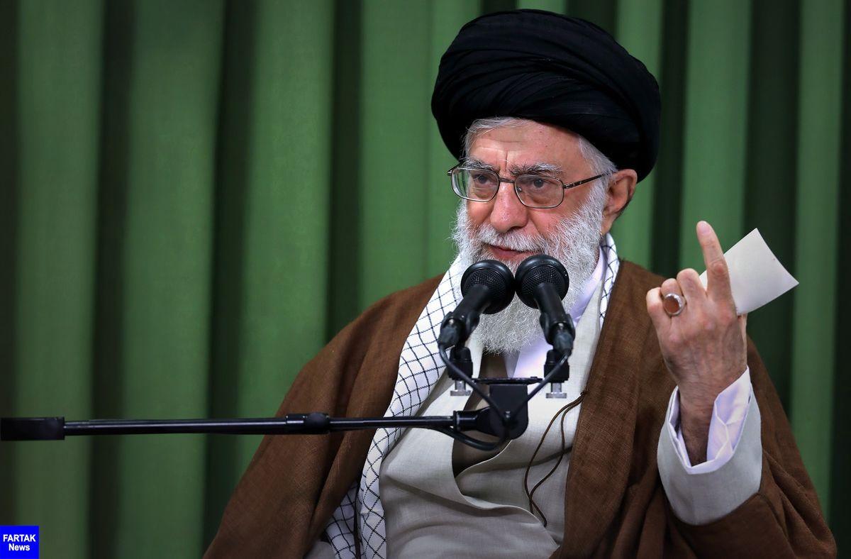 رهبر انقلاب: اسرائیل نه یک کشور بلکه پایگاه تروریستی علیه ملتهای مسلمان است