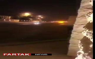فیلمی دیگر از تیراندازیهای شدید در داخل کاخ پادشاهی سعودی