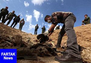 گور جمعی ۱۸ زن و کودک در شمال موصل کشف شد