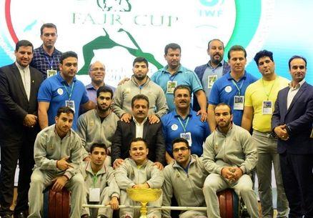 خوزستان قهرمان رقابتهای وزنهبرداری جام فجر شد