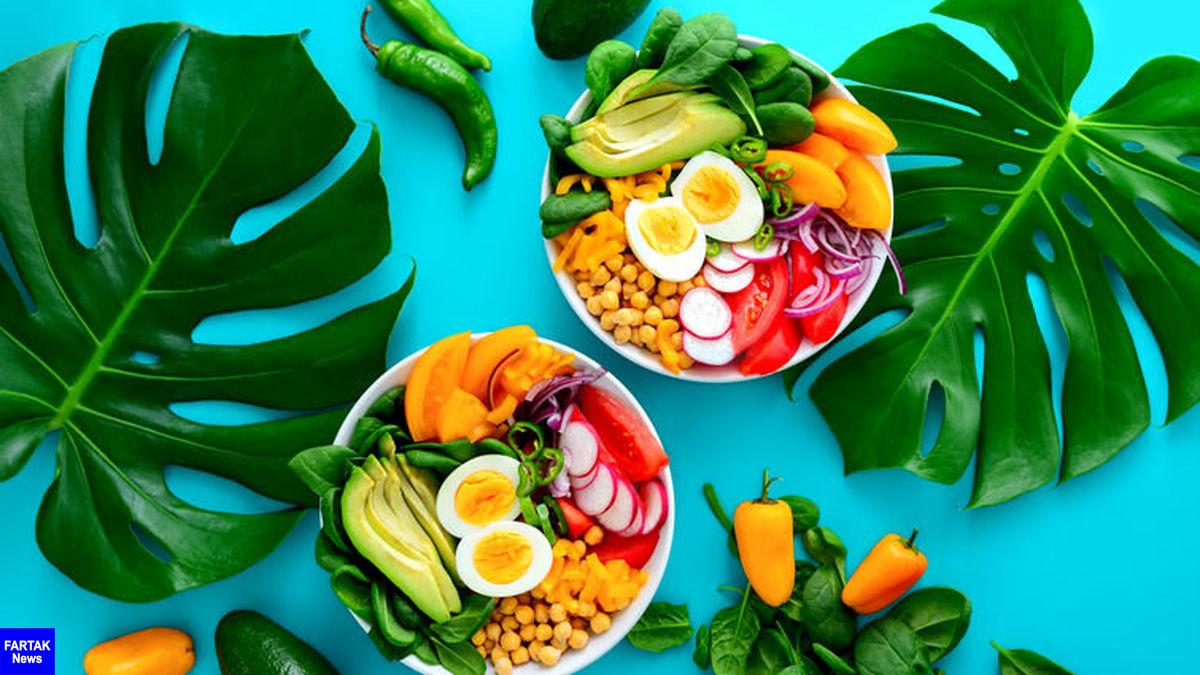 پایین آوردن درجه حرارت بدن با 8 ماده غذایی