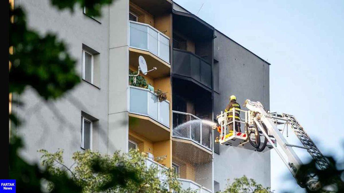 حریق در یک ساختمان جمهوری چک ۱۱ کشته بر جا گذاشت