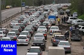 آخرین وضعیت ترافیکی و جوی جاده های کشور