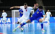 حذف ایران از جام جهانی فوتسال/ بازی برده را به قزاقستان باختیم!