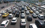 ترافیک نیمهسنگین در تمامی محورهای شرقی تهران