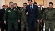دیدار اسد و شویگو درباره با محوریت ادلب و جاده حلب - لاذقیه
