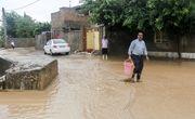 باران تابستانه در مینودشت و آزادشهر خسارت به بار آورد