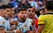 آرژانتینیها به دنبال لغو مجازات لیونل مسی