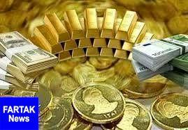 قیمت طلا، قیمت دلار، قیمت سکه و قیمت ارز امروز ۹۸/۰۷/۱۰