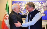 پیام توییتری ظریف درخصوص دیدار و مذاکراتش با مقامات پاکستان
