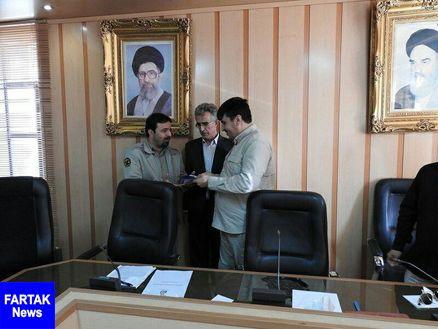 مراسم تودیع و معارفه فرمانده یگان حفاظت محیط زیست کرمانشاه برگزار شد
