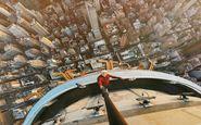 عکس سلفی از بالای ساختمانی 120 طبقه در نیویورک