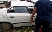 در تصادف ۳ خودرو در حوالی بهشت زهرا(س) ۱۱ نفر مصدوم شدند