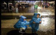 باران و رعد و برق در ۱۸ استان کشور