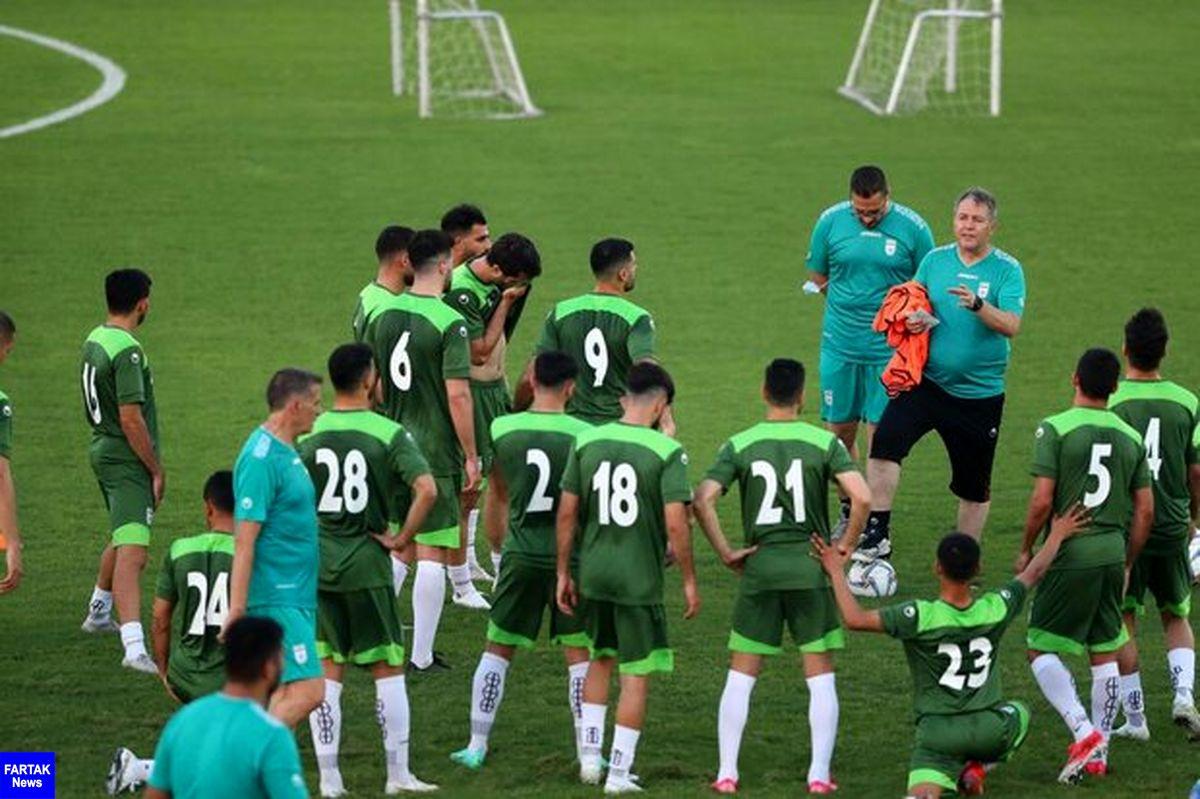 اعلام زمان سفر تیم ملی فوتبال به منامه