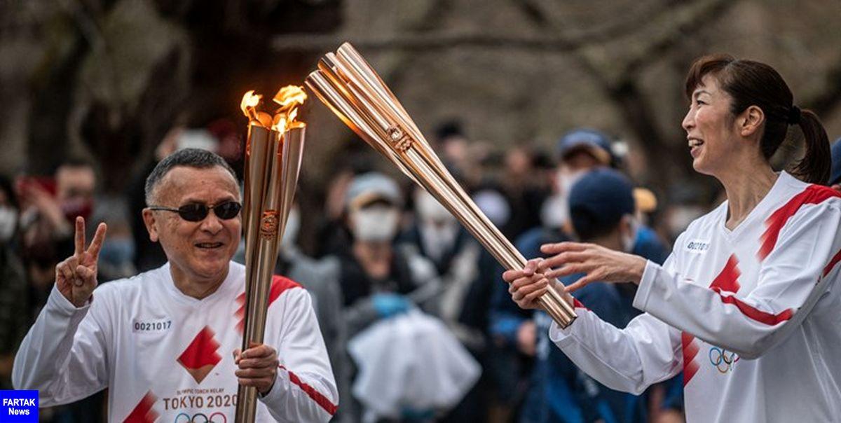 لغو حمل مشعل المپیک در اوزاکا
