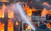 17 نفر محبوس و 8 مصدوم در آتش آپارتمان 5 طبقه