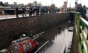 گیر کردن 9 دستگاه خودرو سواری در آبگرفتگی زیرگذر منجم و نجات 12 سرنشین توسط آتش نشانان