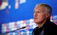 صحبت های سرمربی تیم ملی فرانسه پس از شکست پرو
