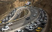 ترافیک روان در جاده های کشور/چالوس یک طرفه می شود