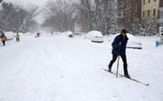 تایم لپسی دیدنی از بارش 3 روزه برف در نیویورک
