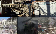 انفجار در خرم آباد خسارات زیادی به بار آورد