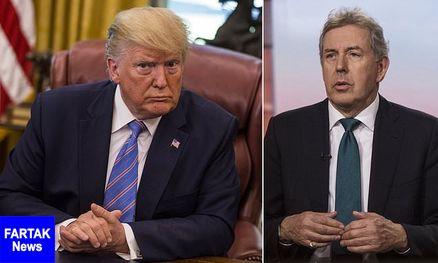 استعفای سفیر انگلیس در آمریکا