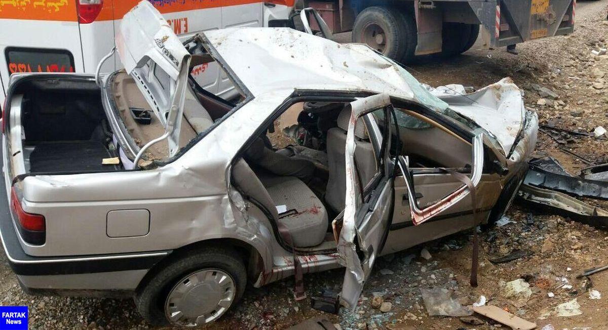 یک کشته و ۶ مصدوم در حادثه رانندگی رامشه اصفهان