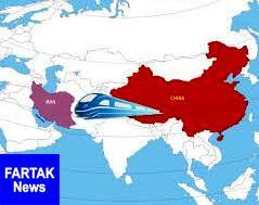 همکاری های ریلی چین و ایران، بی توجه به تحریم ها
