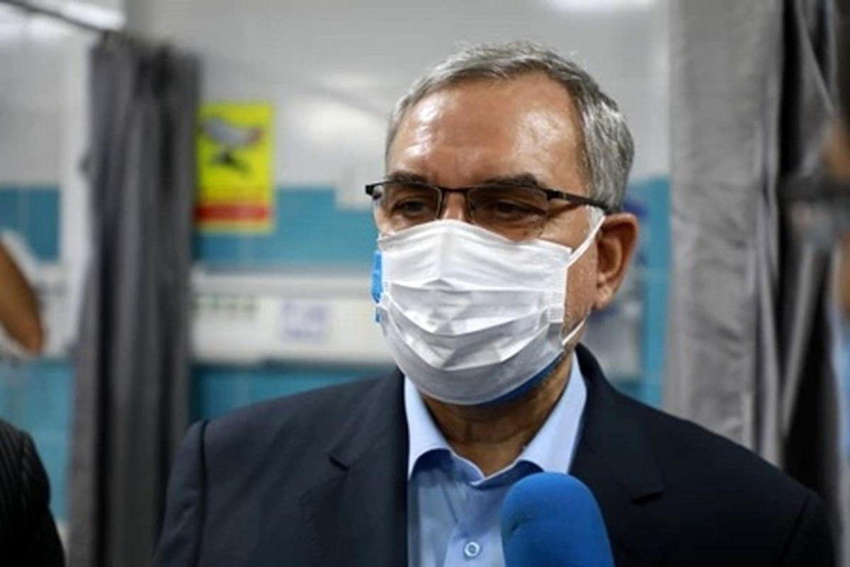 توصیه وزیر بهداشت: مردم حتما واکسن کرونا تزریق کنند