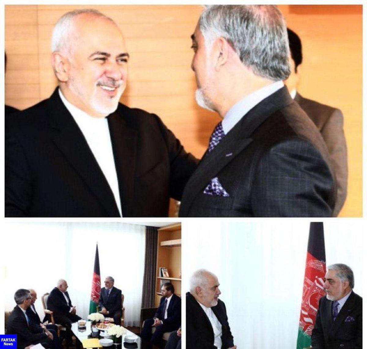 ظریف و «عبدالله عبدالله» فردا با هم دیدار می کنند