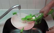 راه حل جدید ژاپنیها برای شستن ظروف +فیلم