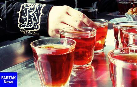 اصول بهداشت در توزیع چای و غذای نذری