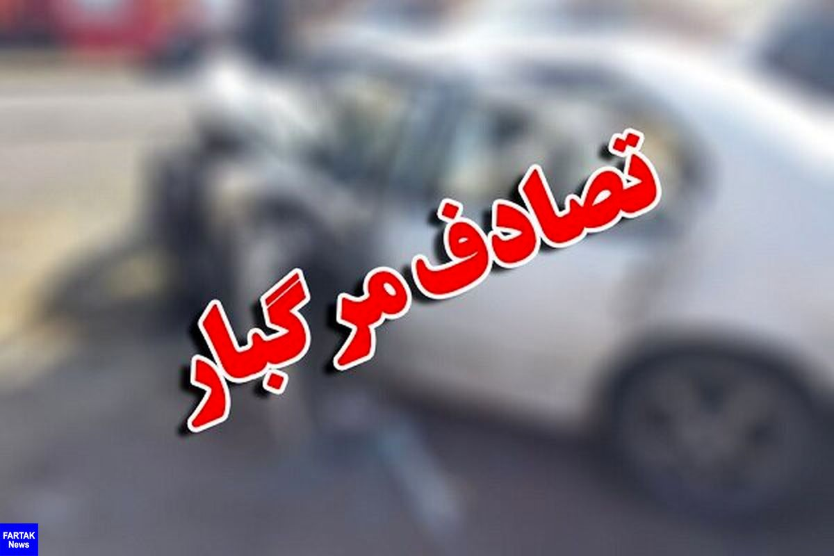 تصادف ۳ خودرو در محور شاهرود-مجن حادثه آفرید