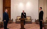ادای سوگند فیصل المقداد در حضور بشار اسد