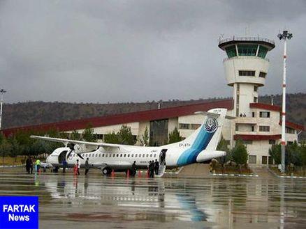 تغییر مسیر پروازهای فرودگاه یاسوج در حال بررسی است