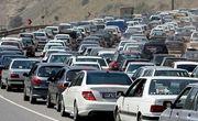 ترافیک فوق سنگین در جاده فیروزکوه ـ تهران