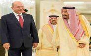 دیدار پادشاه عربستان با رئیس جمهور عراق در ریاض