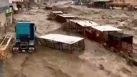 فیلم/ سیل وحشتناک دیروز در جازان عربستان