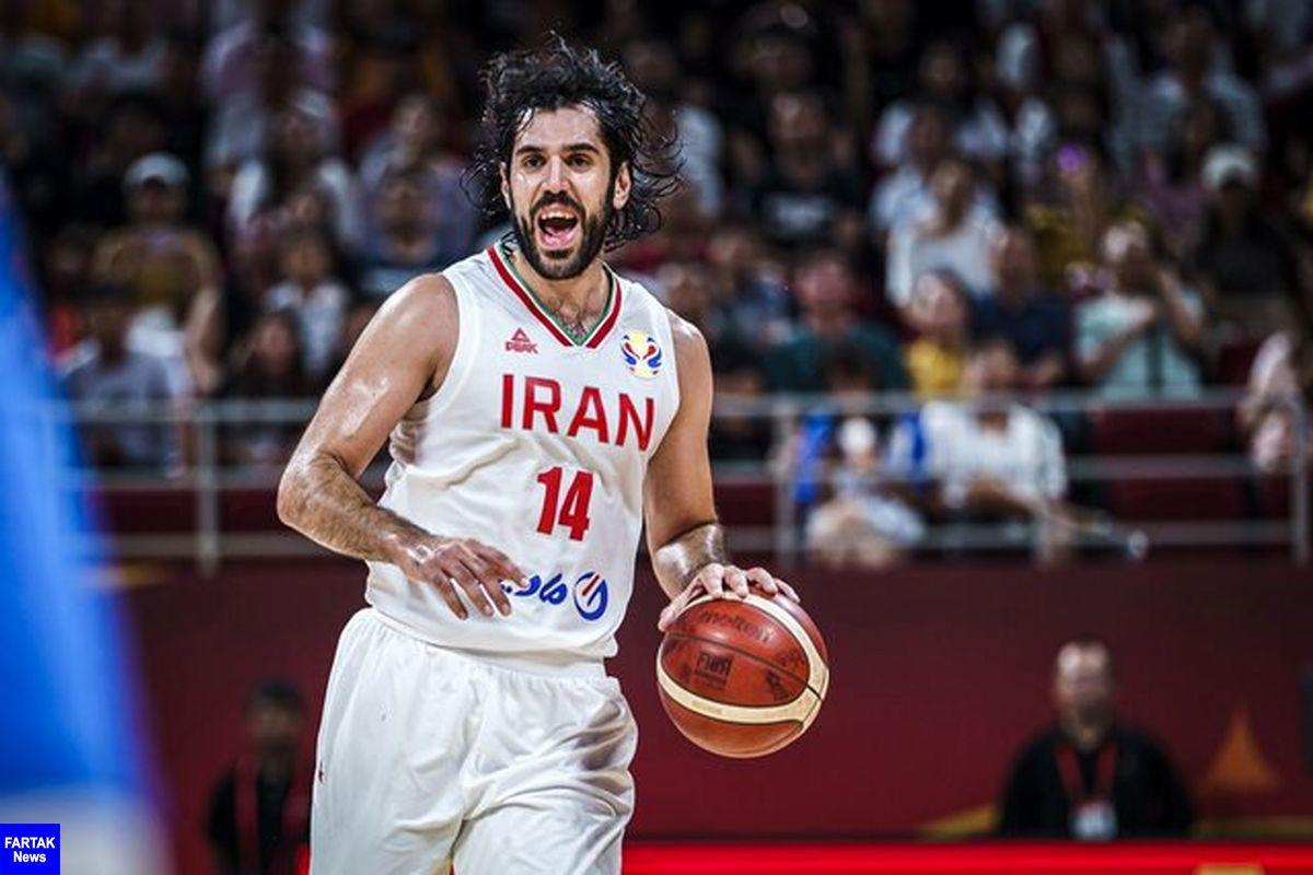 ابتلای ستاره بسکتبال ایران به کرونا