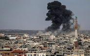 هواپیمای رژیم صهیونیستی شرق غزه را هدف قرار داد