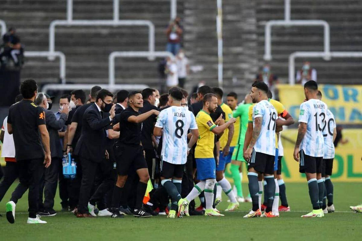 دیدار برزیل و آرژانتین لغو شد؛ فیفا تکلیف را مشخص میکند