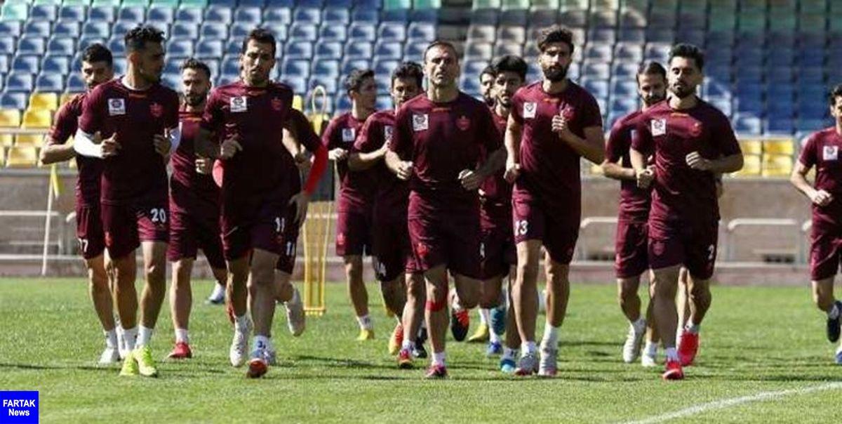 گزارش تمرین پرسپولیس/ پاسکاری هدفمند و تحت فشار و فوتبال درون تیمی