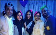 پوشش و حجاب متفاوت بازیگران زن در یک جشن تولد (عکس)