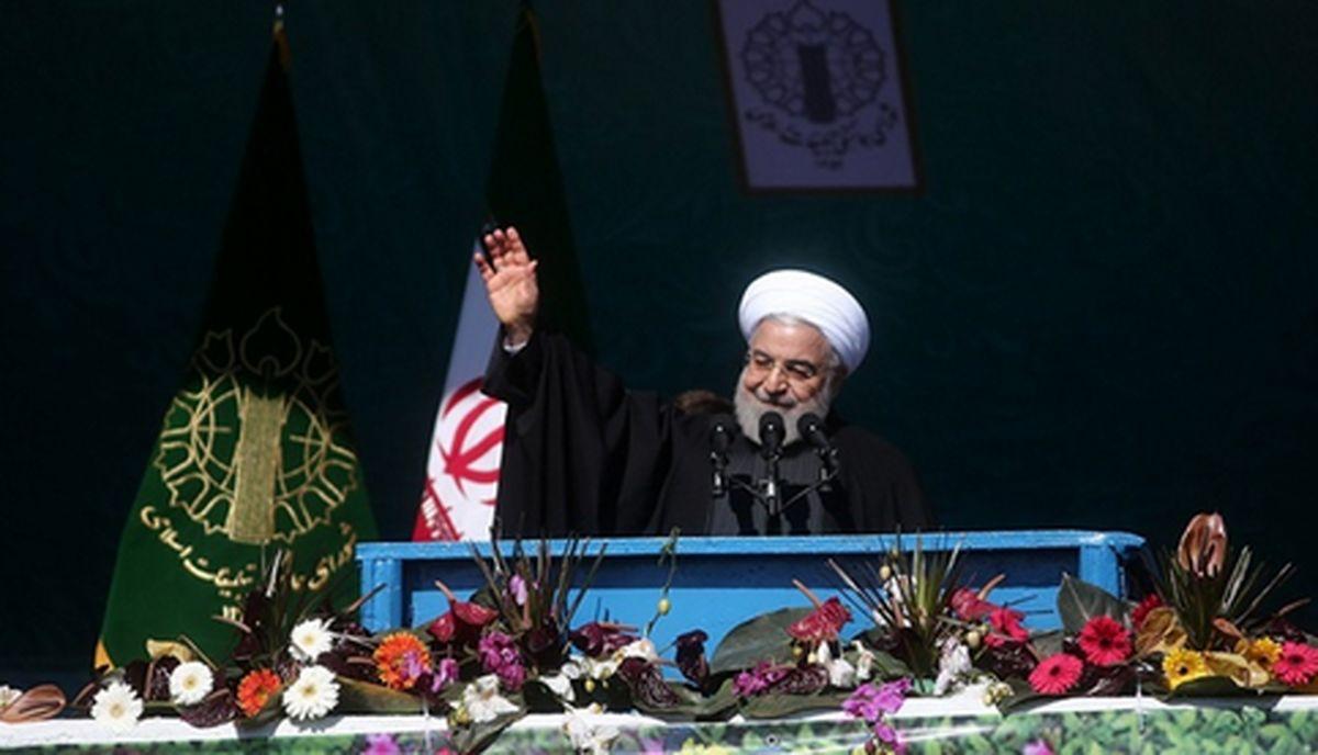 روحانی:دولت با وجود سختیها کار های بزرگی انجام داده است