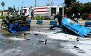 عجیب ترین عکس از نصف شدن نیسان آبی / 2 نفر در رودسر کشته شدند