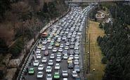 ترافیک در محور ایلام به مهران/باران در محورهای خوزستان و کردستان